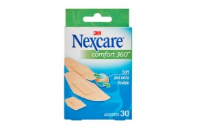 NEXCARE COMFORT STRIPS 360o 30 τμχ.