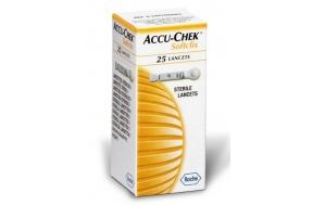 ACCU-CHEK SOFTCLIX LANCETS 25-ΔΩΡΕΑΝ