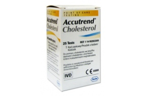 ACCUTREND CHOLESTEROL 25-STR