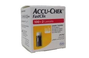 ACCU-CHEK FASTCLIX LANCETS 102