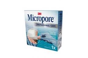 MICROPORE 2,5 cm x 5 m·1 τμχ/κουτί 1530IP-1S