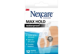 NEXCARE MAX HOLD WATERPROOF 12τμχ.