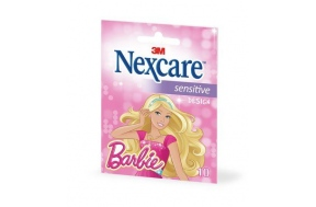 NEXCARE SENSITIVE STRIPS BARBIE 10τμχ.