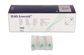 B-D ΣΥΡ.10ml 21GX1 1/2(100)EMERAL(307737)