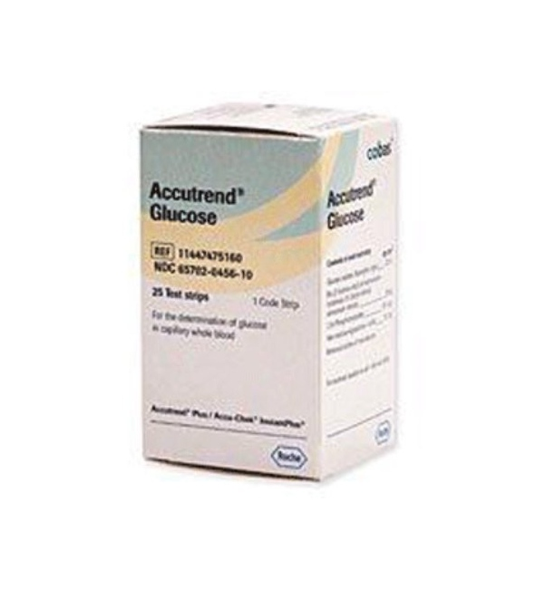 ACCUTREND GLUCOSE II TEST 25 strips