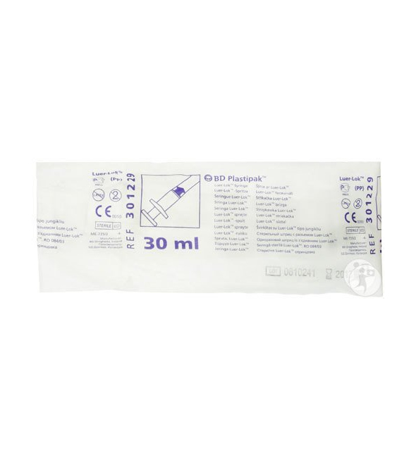 Β&D ΣΥΡΙΓΓΑ 30ml LL (60ΤΕΜ)-301229