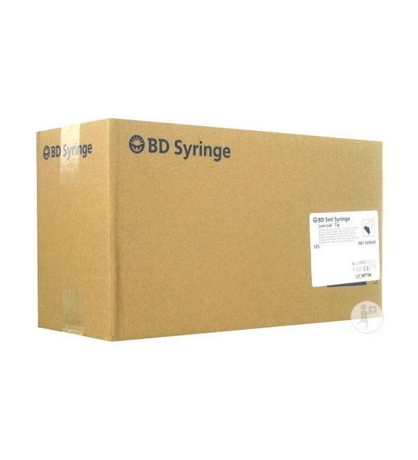 B+D ΣΥΡΙΓΓΕΣ 5ml L-L 125 TMX NEW (309649)
